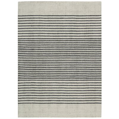 Tundra Hand-Woven Gray Area Rug Rug Size: Rectangle 53 x 75