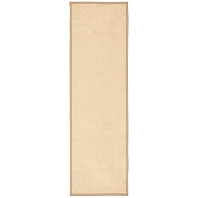 Kerala Hand-Loomed Beige Area Rug Rug Size: Runner 23 x 76
