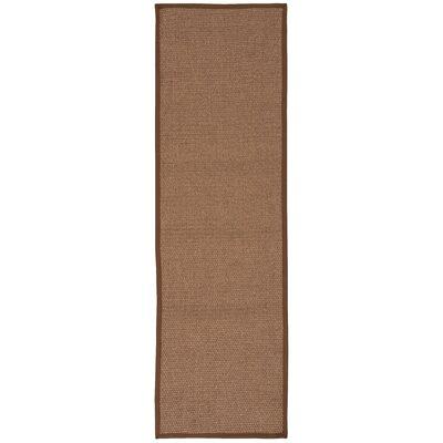 Kerala Brown Area Rug Rug Size: Runner 23 x 76