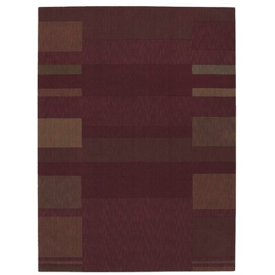 Loom Select Brick Area Rug Rug Size: Rectangle 2 x 29