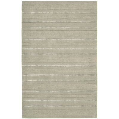 Sahara Hand Woven Wool Tangier Palm Area Rug Rug Size: Rectangle 19 x 29