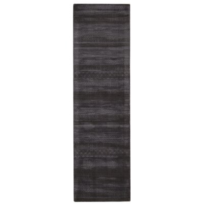 Maya Delta Wineberry Area Rug Rug Size: Runner 23 x 8