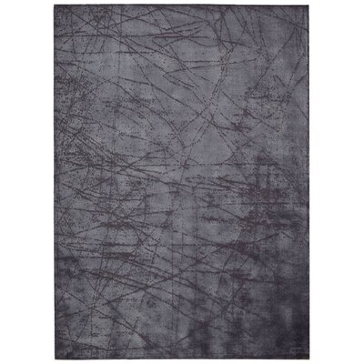 Maya Etched Light Orchid Area Rug Rug Size: 76 x 106