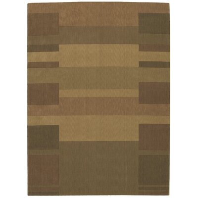 Loom Select Gold Area Rug Rug Size: Rectangle 36 x 56