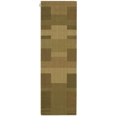 Loom Select Gold Area Rug Rug Size: Runner 23 x 75