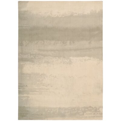 Luster Wash Dune Ivory Area Rug Rug Size: Rectangle 56 x 8