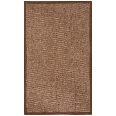 Kerala Brown Area Rug Rug Size: Rectangle 26 x 42