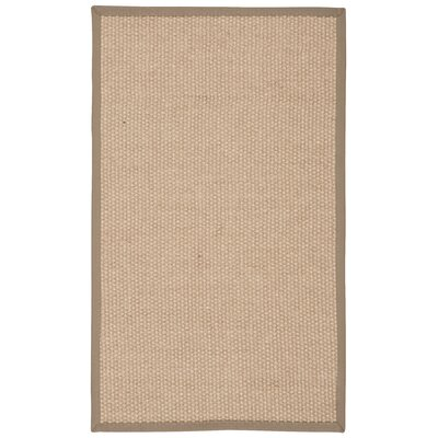 Kerala Hand-Loomed Beige Area Rug Rug Size: Rectangle 26 x 42
