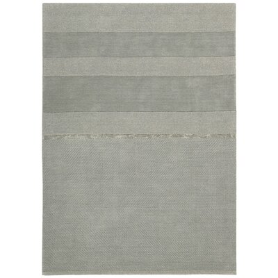 Vale Hand-Loomed Portland Quarry Area Rug Rug Size: Rectangle 53 x 75