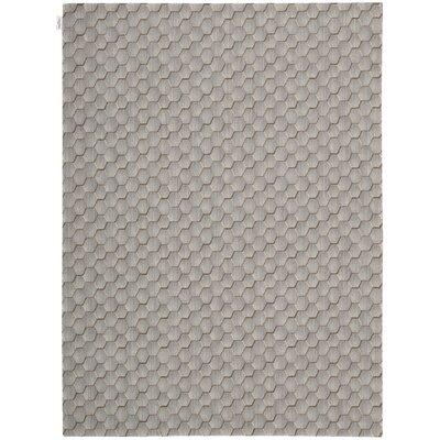 Loom Select Wool Smoke Area Rug Rug Size: 56 x 75