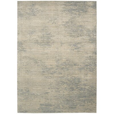 Maya Pasha Mineral Area Rug Rug Size: Rectangle 53 x 75