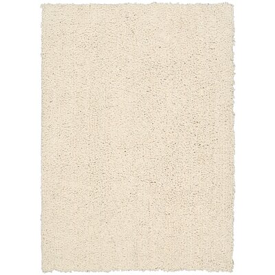 Puli Hand-Woven Loc Ecru Area Rug Rug Size: Rectangle 76 x 96