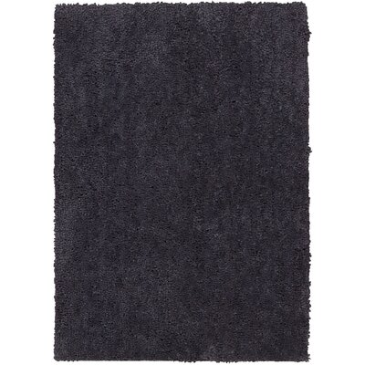 Puli Hand-Woven Loc Steel Area Rug Rug Size: Rectangle 76 x 96