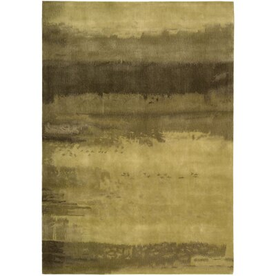 Luster Wash Citrine Wash Gold Area Rug Rug Size: Rectangle 4 x 6