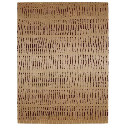 Loom Select Camel Area Rig Rug Size: Rectangle 56 x 75