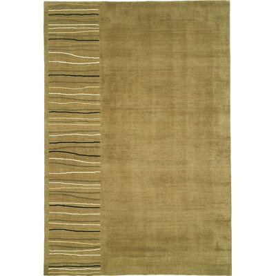 Tibetan Handmade Khaki Area Rug Rug Size: Rectangle 83 x 11