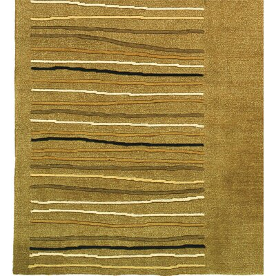 Tibetan Handmade Khaki Area Rug Rug Size: Rectangle 96 x 136