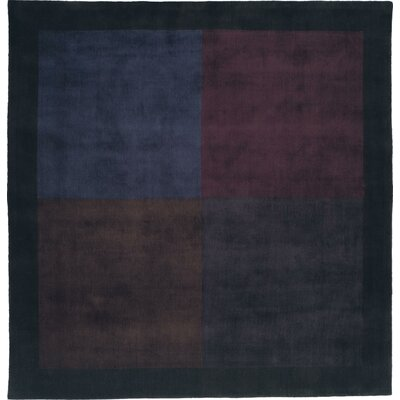 Hand-Crafted Area Rug Rug Size: Square 8