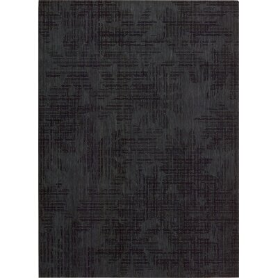 Urban Dark Indigo Area Rug Rug Size: Rectangle 53 x 75
