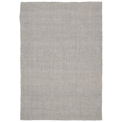 Calvin Klein Mangrove Vera Cruz Hand-Woven Gray Area Rug Rug Size: Rectangle 53 x 75
