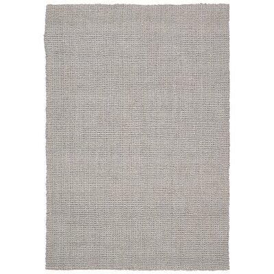 Calvin Klein Mangrove Vera Cruz Hand-Woven Gray Area Rug Rug Size: 53 x 75