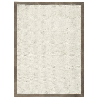 Lucia Oyster Area Rug Rug Size: Rectangle 56 x 75