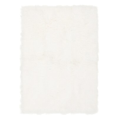 Moritz Ivory Area Rug Rug Size: Rectangle 53 x 75