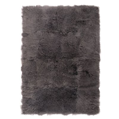 Moritz Smoke Area Rug Rug Size: Rectangle 4 x 6