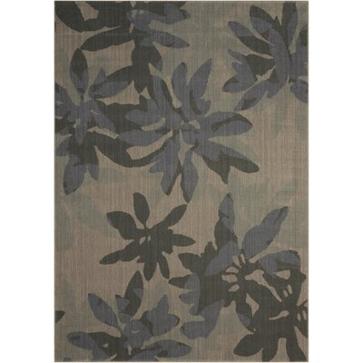 Urban Winter Flower Vapor Area Rug Rug Size: Rectangle 53 x 75