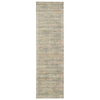 Maya Pasha Mineral Area Rug Rug Size: Runner 23 x 8