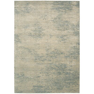 Maya Pasha Mineral Area Rug Rug Size: Rectangle 93 x 129