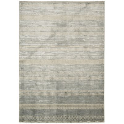 Maya Delta Dolomite Area Rug Rug Size: Rectangle 35 x 55