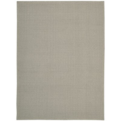 Shetland Hand-Woven Basketweave Drift Area Rug Rug Size: Rectangle 56 x 75