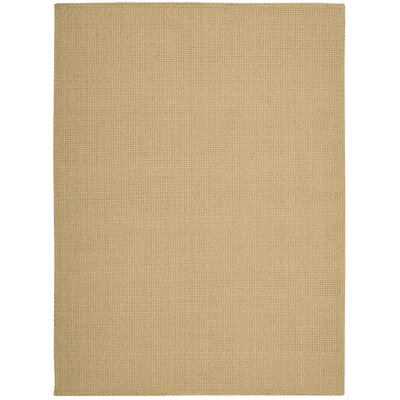 Shetland Hand-Woven Basketweave Seagrass Area Rug Rug Size: 56 x 75