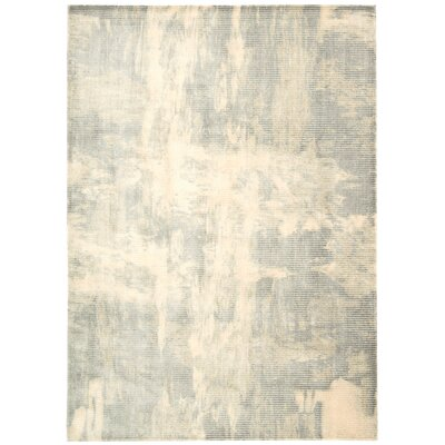 Maya Lucid Dew Area Rug Rug Size: Rectangle 93 x 129