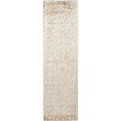 Maya Feldspar Mica Area Rug Rug Size: Runner 23 x 8