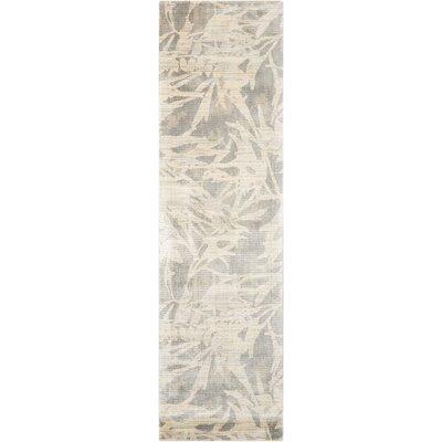 Maya Borneo Zinc Area Rug Rug Size: Runner 23 x 8
