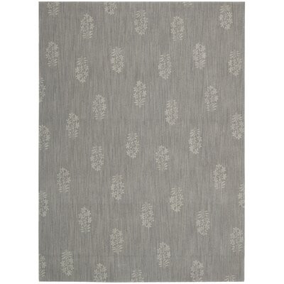 Loom Select Pondicherry Granite Area Rug Rug Size: Rectangle 36 x 56
