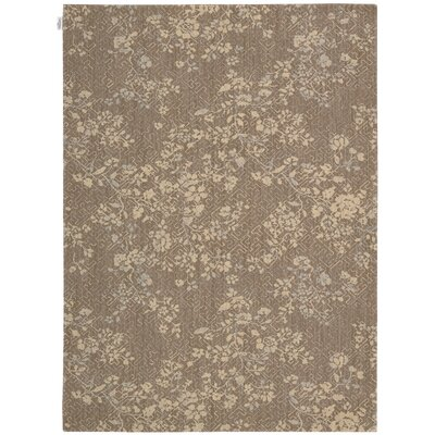 Loom Select Jasmine Vines Pecan Area Rug Rug Size: Rectangle 2 x 29
