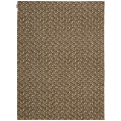 Loom Select Neutrals Pasture Fawn Area Rug Rug Size: 56 x 75