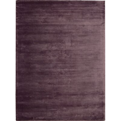 "Lunar Luminescent Rib Purple Area Rug Rug Size: 5'6"" x 7'5"" 099446428073"
