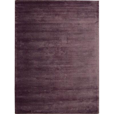 "Lunar Luminescent Rib Purple Area Rug Rug Size: 3'6"" x 5'6"" 099446427533"