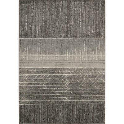 Gradient Basalt Area Rug Rug Size: Rectangle 56 x 8
