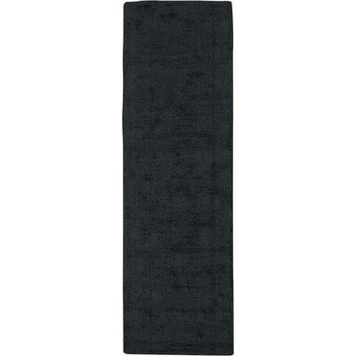 Nevada Handmade Midnight Area Rug Rug Size: Runner 23 x 76