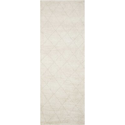 Heath Hand-Woven Beige Area Rug Rug Size: Runner 2'3