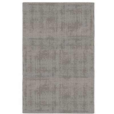 Nevada Hand-Woven Gray Area Rug Rug Size: Rectangle 79 x 1010