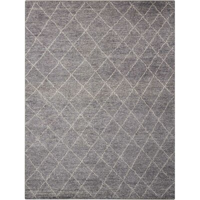 Heath Hand-Woven Gray Area Rug Rug Size: Runner 23 x 76