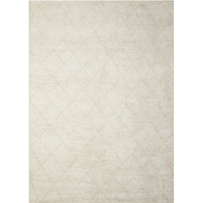 Heath Hand-Woven Beige Area Rug Rug Size: Rectangle 7'9