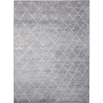 Heath Hand-Woven Gray Area Rug Rug Size: 79 x 1010