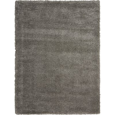 Riad Gray Area Rug Rug Size: Rectangle 9 x 12